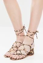 Public Desire - Freya heel - black & beige