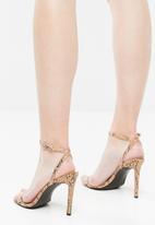 Public Desire - Notion heel - brown