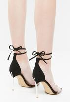 Public Desire - Idolise heel - black