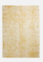 Sixth Floor - Nicole printed rug - yellow