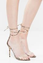 Public Desire - Jorja heel - brown