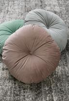 Sixth Floor - Lulu round pillow - dawn