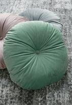 Sixth Floor - Lulu round pillow - jade