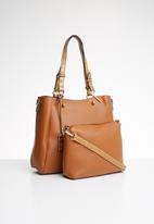 Miss Black - Neko handbag - tan