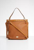 Miss Black - Baez handbag - tan