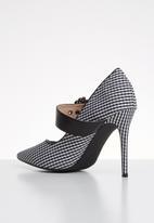 Miss Black - Karabo heel - black & white