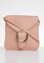 BLACKCHERRY - Faux leather cross body bag - pink