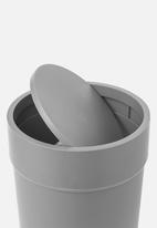 Umbra - Touch waste can with lid - grey