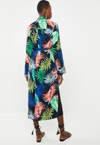 Superbalist - Longer length palm print kimono - multi