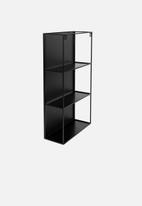 Umbra - Cubiko mirror & storage unit - black