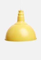 Sixth Floor - Utility pendant - mustard