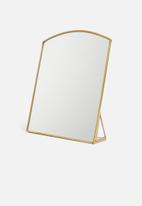 Sixth Floor - Savannah mirror - brass