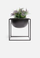 Sixth Floor - Tilly planter - matte black