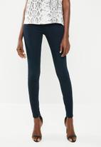 G-Star RAW - G-star shape high super skinny jeans - navy