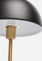 Present Time - Bonnet table lamp - black