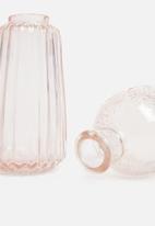 Sixth Floor - Dixies vases set of 3 - blush