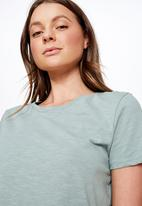 Cotton On - The crew T- shirt  - green