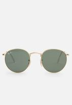 Ray-Ban - Ray-ban hexagonal flat rb3447n 001 - crystal green
