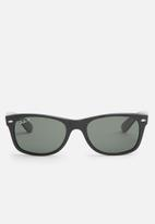 Ray-Ban - Ray-ban new wayfarer classic rb2132 901/58 - crystal green polarized
