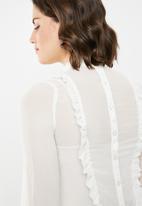 edit - Button down shirt - cream