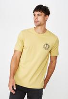 Cotton On - Tbar art tee - yellow