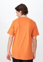 Cotton On - Tbar urban tee - orange