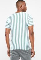 Jack & Jones - Mito short sleeve tee - green & white