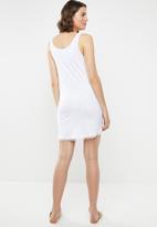 Lizzy - Lily  Dress - white