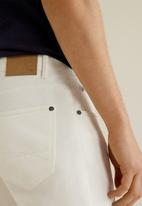 MANGO - Pisa trousers - white