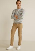 MANGO - Pisa trousers - brown