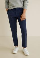MANGO - Bari trousers - navy