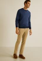 MANGO - Prato trousers - light beige