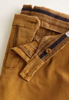 MANGO - Hogg  trousers - brown