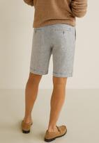 MANGO - Bora bermuda shorts - light grey