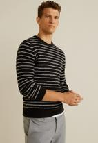 MANGO - Vincent sweater - black