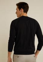 MANGO - Ten sweater - black