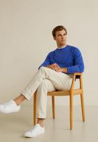 MANGO - Ten sweater - blue