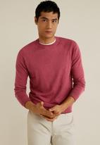 MANGO - Ten sweater - pink