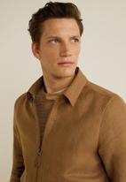 MANGO - Fenrir jacket - brown