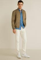 MANGO - Verona jacket - light beige