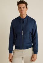 MANGO - Verona jacket - blue