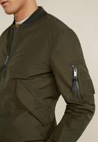 MANGO - Oleandro jacket  - khaki