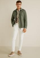 MANGO - Laiz jacket - khaki