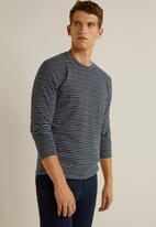 MANGO - Sautela T-shirt - navy