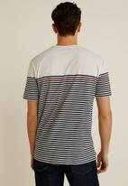 MANGO - Conan T-shirt - white & red