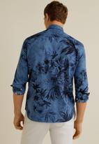 MANGO - Dacca shirt - navy