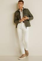 MANGO - Ernesta shirt - natural white