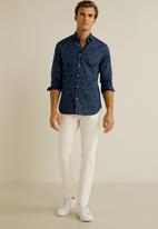 MANGO - Enter shirt - navy