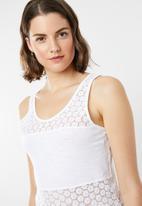 Lizzy - Gaella tank - white