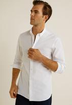 MANGO - Arnold shirt - white